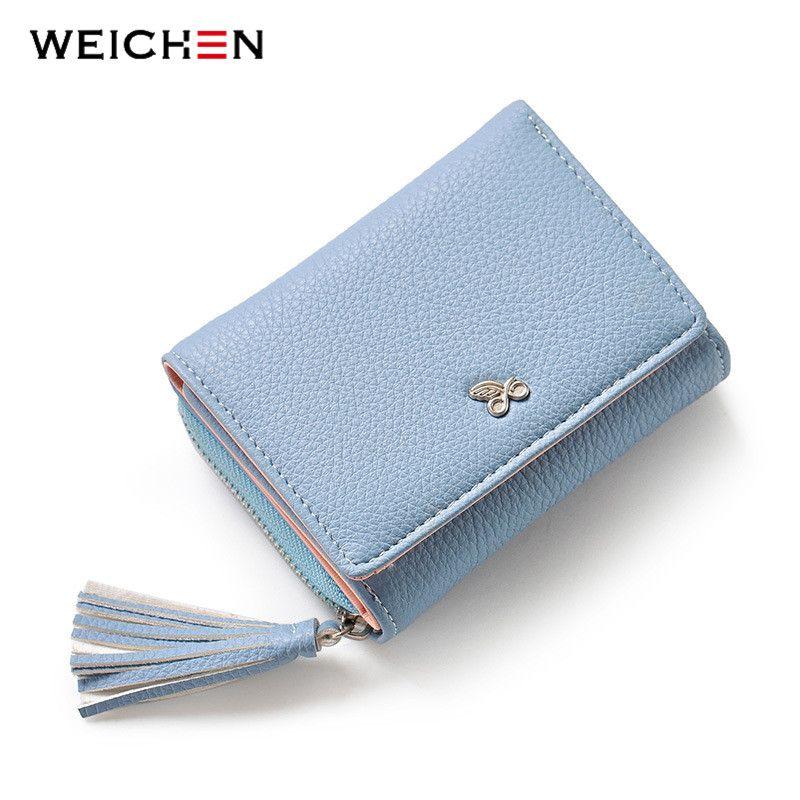 Only   Weichen Tassels ZipperHasp Women Wallet For Coin