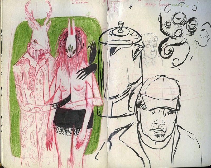 Nomi Chi: Sketchbook update II: The moleskine edition.