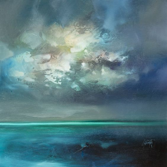 "wasbella102: "" Isle of Skye Emerges by Scott Naismith "" 