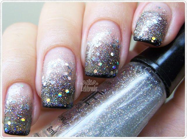 32 Simple And Cute Nail Art Designs Glitter Polish Nails Bob Hairstyle