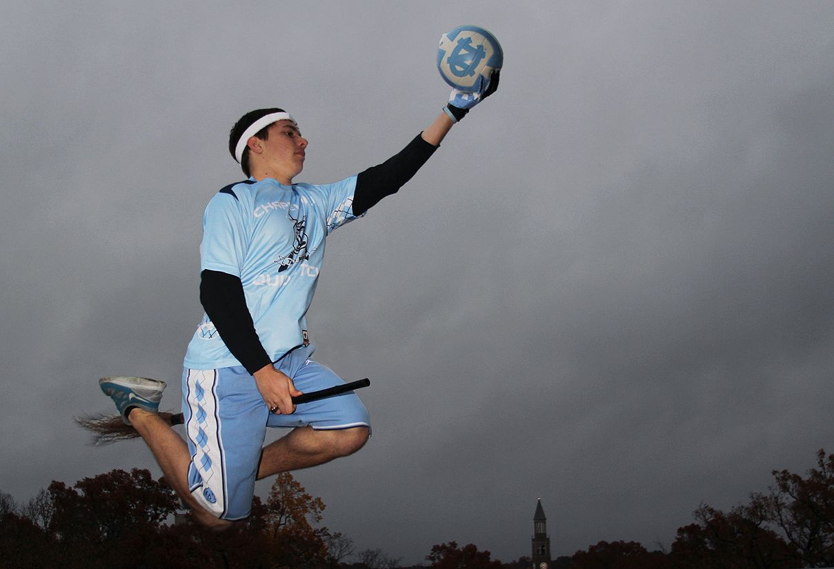 A UNC Quidditch player will compete in this year's world