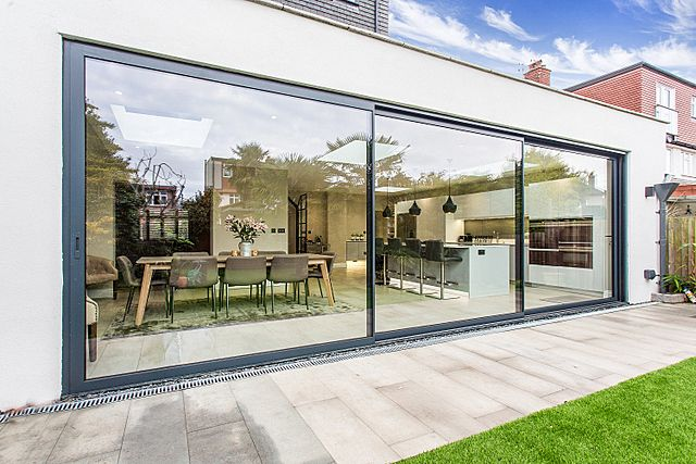 TW10 Architects - single storey extension