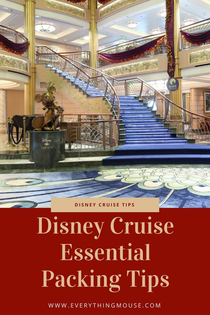 Disney Cruise Packing Tips and Hacks. If you are sailing on a Disney cruise and wonder what items to pack here is our essential packing guide.