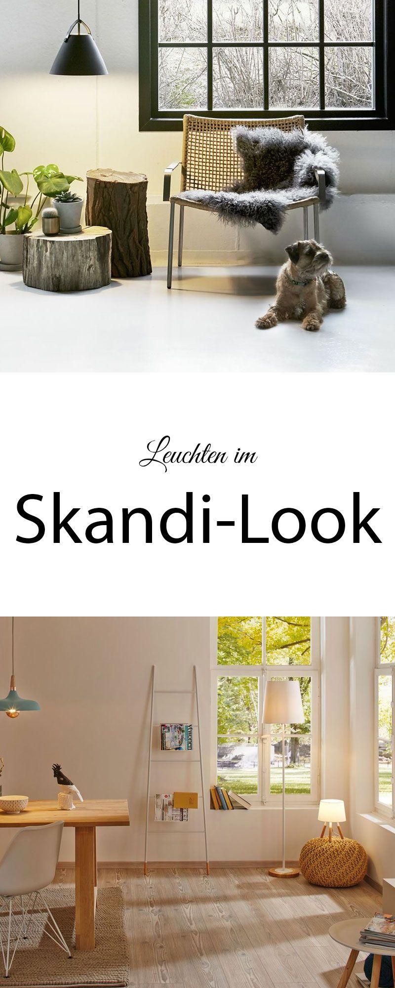 Skandinavische Leuchten Helle Freundliche Farben Und Viel Natur