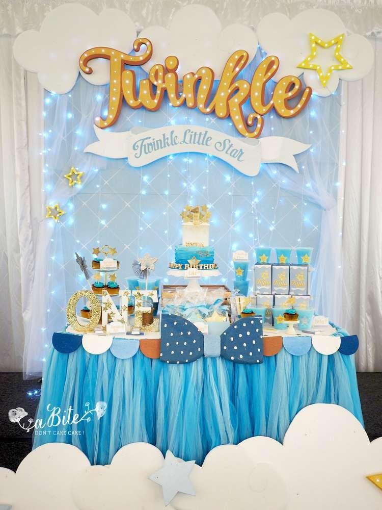 Stars Birthday Party Ideas Candys Twinkle Twinkle Little Star