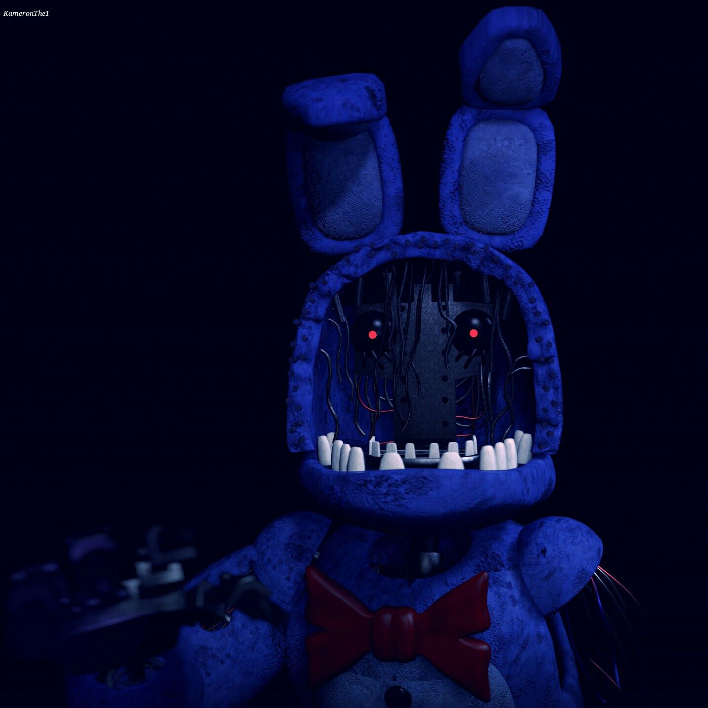 Withered Bonnie Anime Drawings Tutorials Fnaf Bonnie