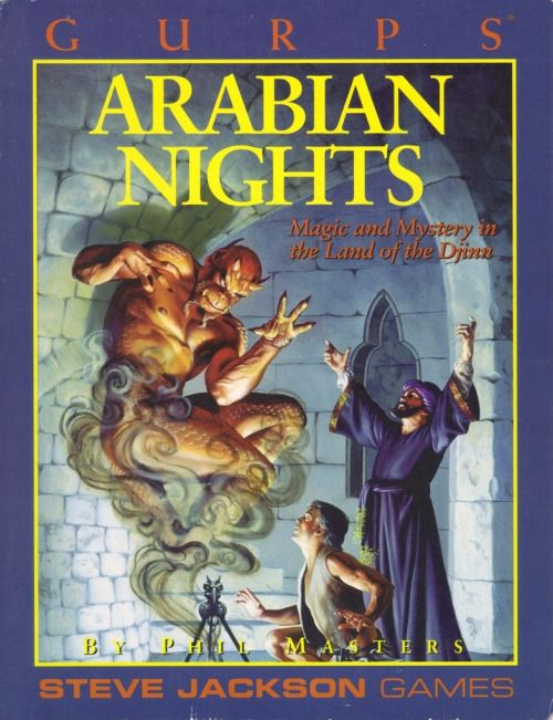 GURPS: Arabian Nights ~ Steve Jackson Games (1993)