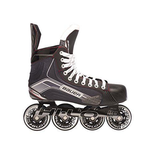 Bauer 1047269 Junior Vapor X300r Roller Hockey Skate Black Size 4 Continue To The Product At The Imag Inline Skating Roller Hockey Skates Kids Roller Skates