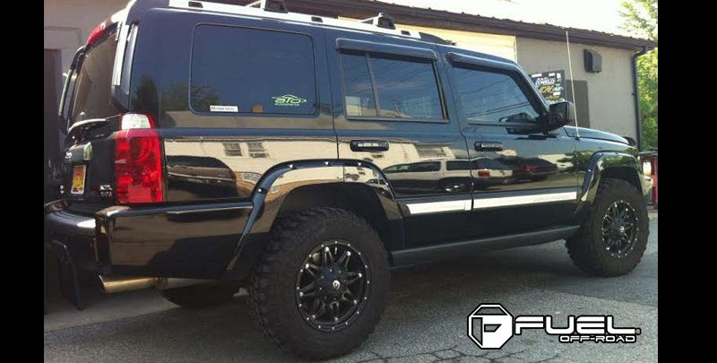 Jeep Commander Hostage D531 Gallery Fuel Off Road Wheels