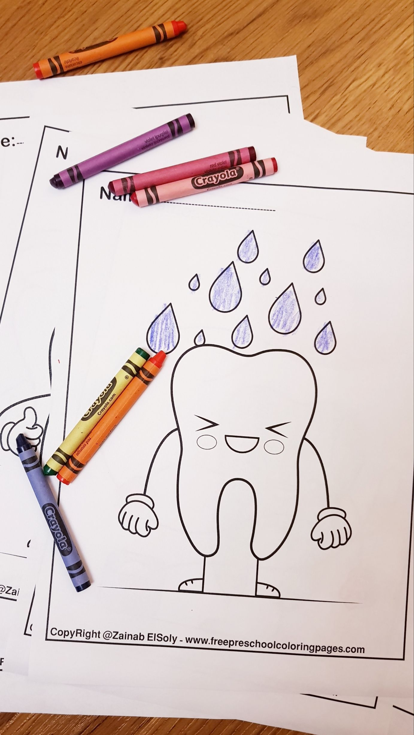 Phenomenal Dental Coloring Pages Printable Free Easy About Teeth ... | 2454x1383