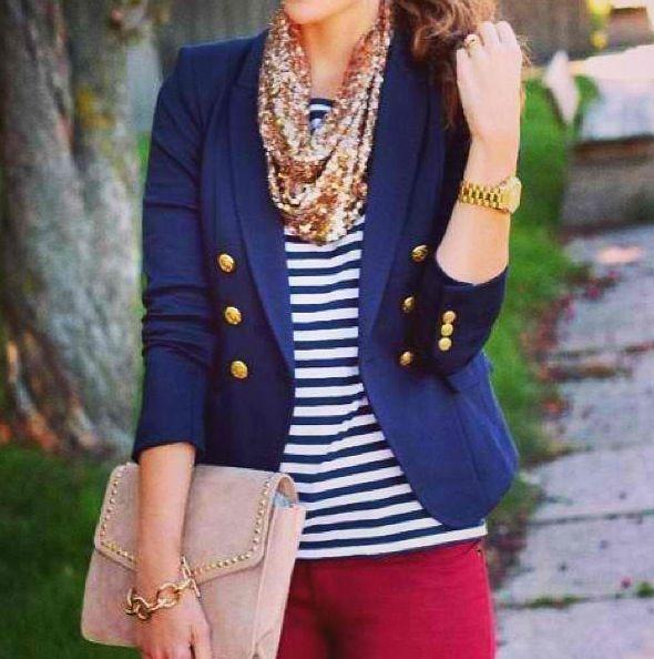 Looks like sailor fashion
