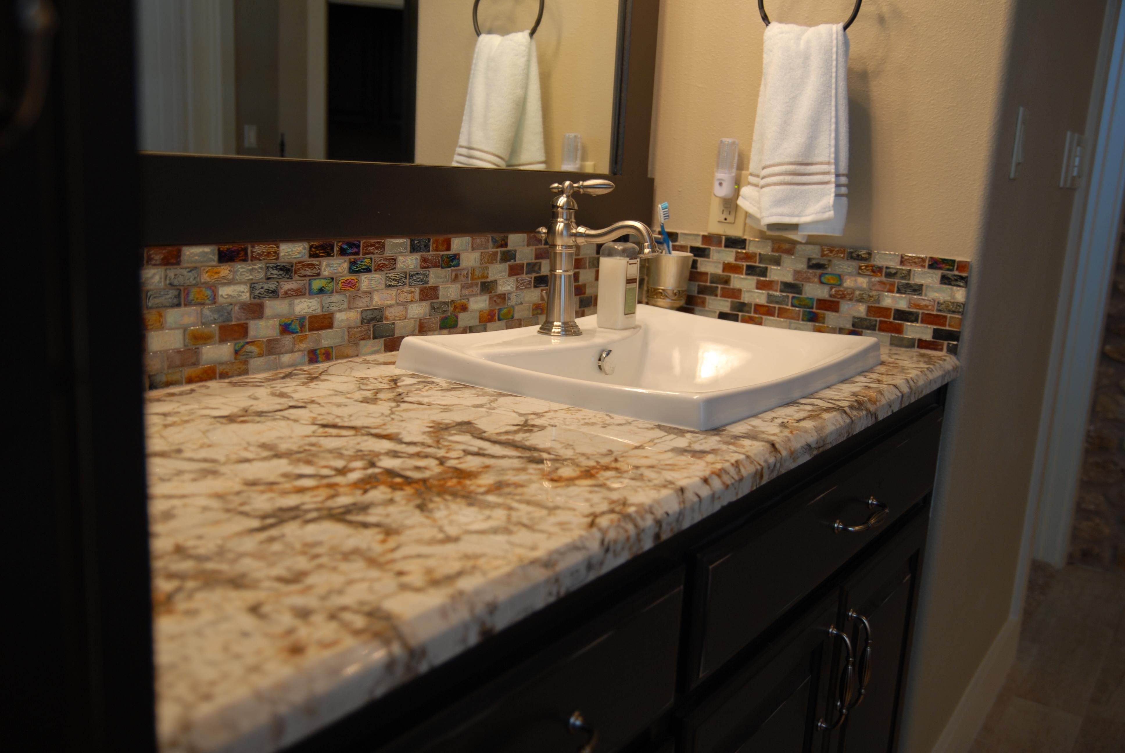 - 30 Interesting Bathroom Countertop Granite Tile Picture And Ideas