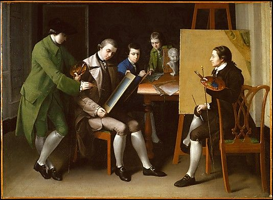 The American School  Matthew Pratt  (1734–1805)  Date: 1765