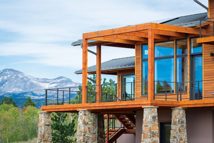 A Pastoral Hideout In The Mountainside Colorado Homes Lifestyles Prairie Style Houses Craftsman House Plans Modern Exterior House Designs