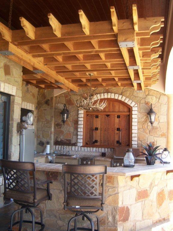 outdoor bar on pinterest outdoor bars outdoor kitchens and bar. Black Bedroom Furniture Sets. Home Design Ideas