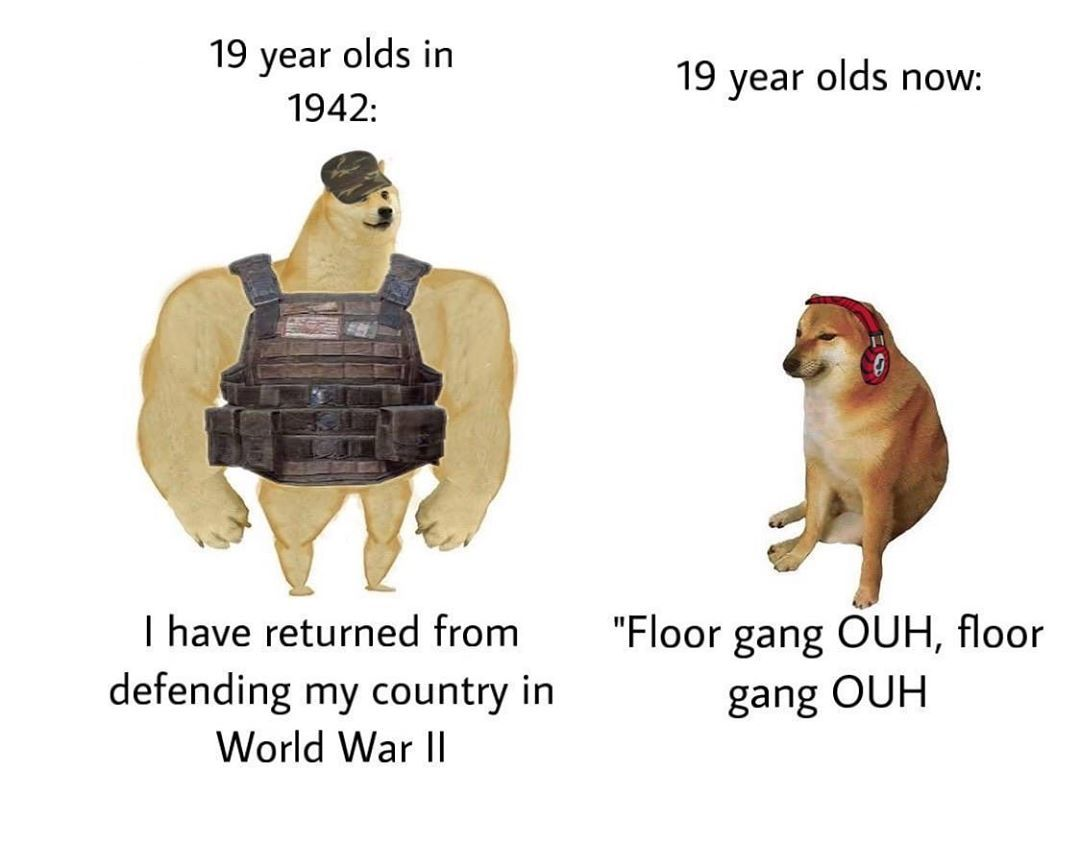 Floor Gang Verified On Instagram Mla Citation U Cbambery28 Oh No Me Tambourine Reddit 30 May 2020 Redd It G Stupid Funny Memes Stupid Memes Funny Memes