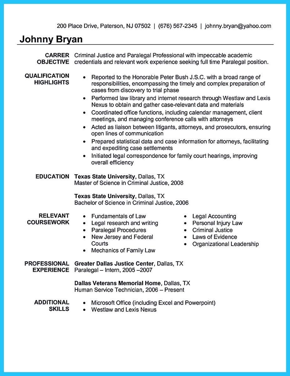 Awesome Arranging A Great Attorney Resume Sample