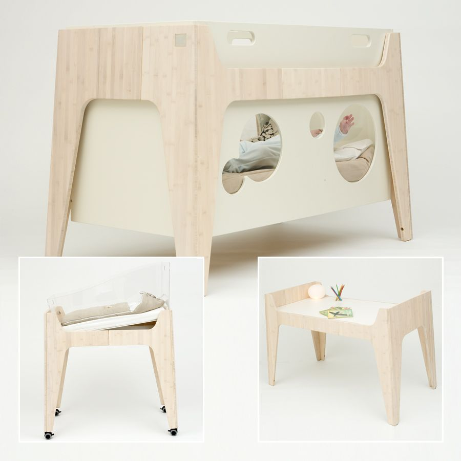 Baby cribs living spaces - Furniture Awesome Pink Pale Baby Furniture In Creative Design By Castor Chouca Inspirational Efficient And