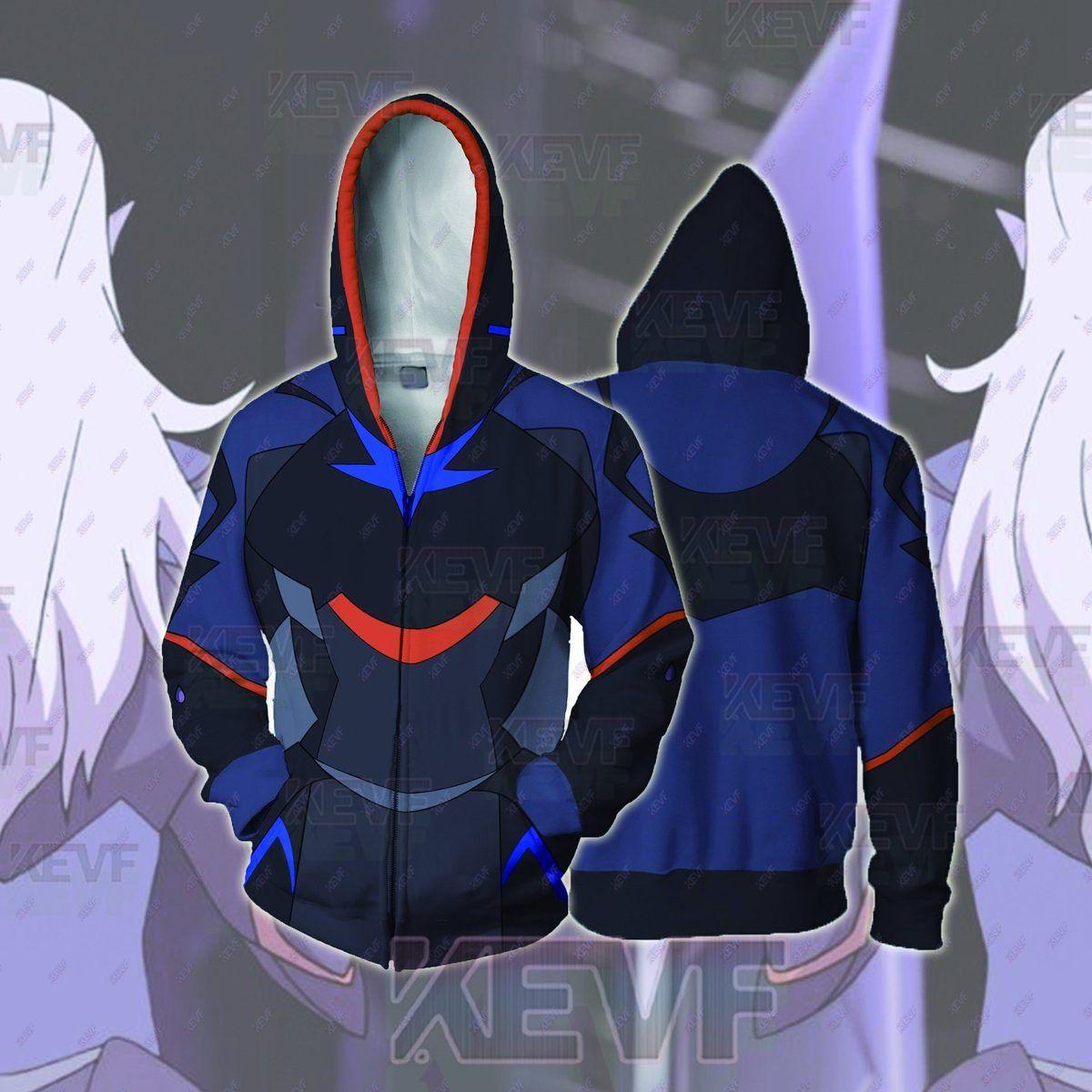 Voltron: Legendary Defender Hoodies Prince Lotor Zip Up