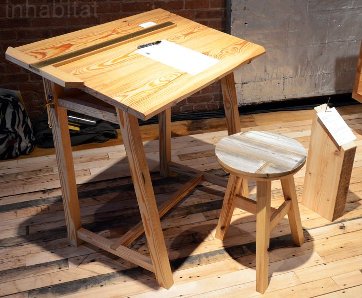 Best 12X12 Designers Transform Reclaimed Nyc Lumber Into Fresh 640 x 480