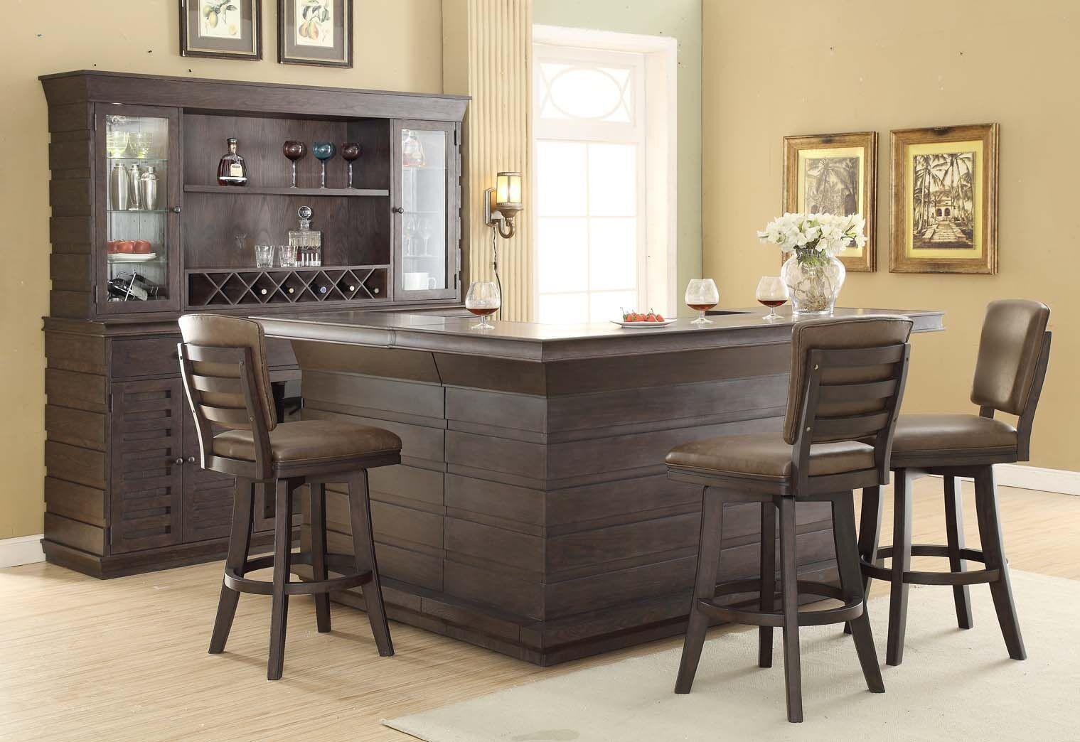 ECI Furniture Toscana Distressed Birch Bar Stool