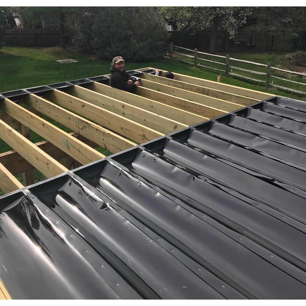 Trex Rainescape Rainescape Deck Drainage System 12 Ft Plastic