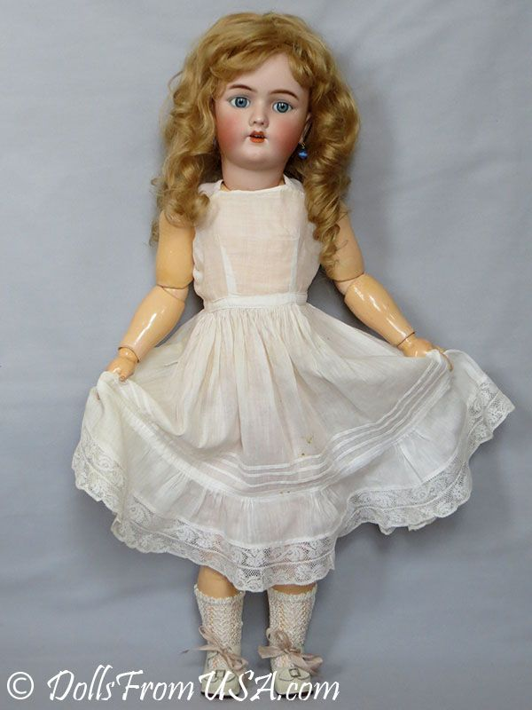 Продается антикварная кукла Heinrich Handwerck 69 4 24( 61см) ПРОДАНА #dollunderware
