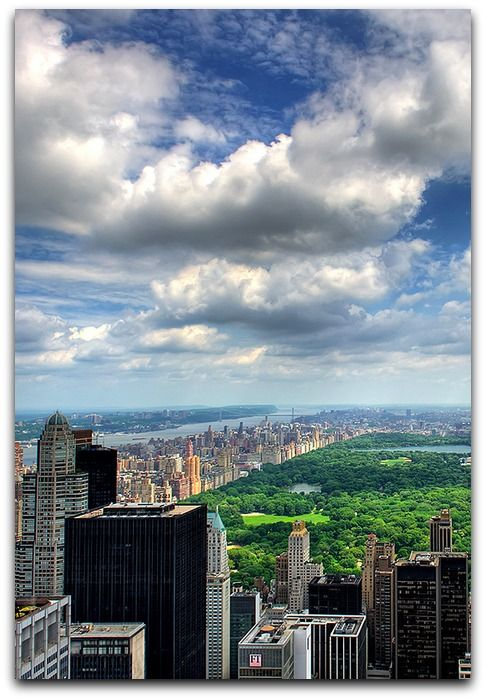 Lung of New York  From Top of the Rock, Rockefeller Center, Manhattan, New York  https://www.flickr.com/photos/anto13/4729440367/in/set-72157624080476509