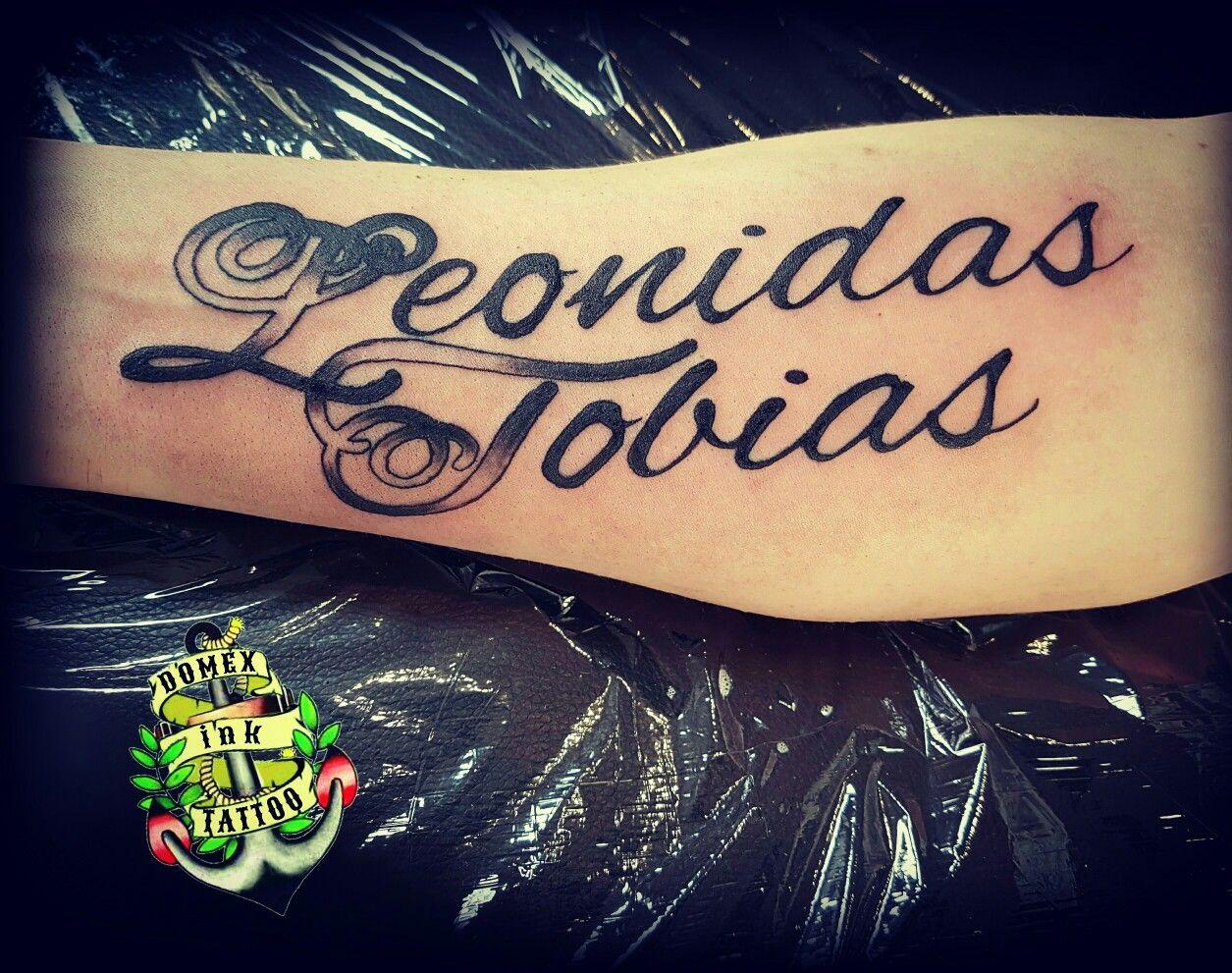 Tattoo Unterarm Name