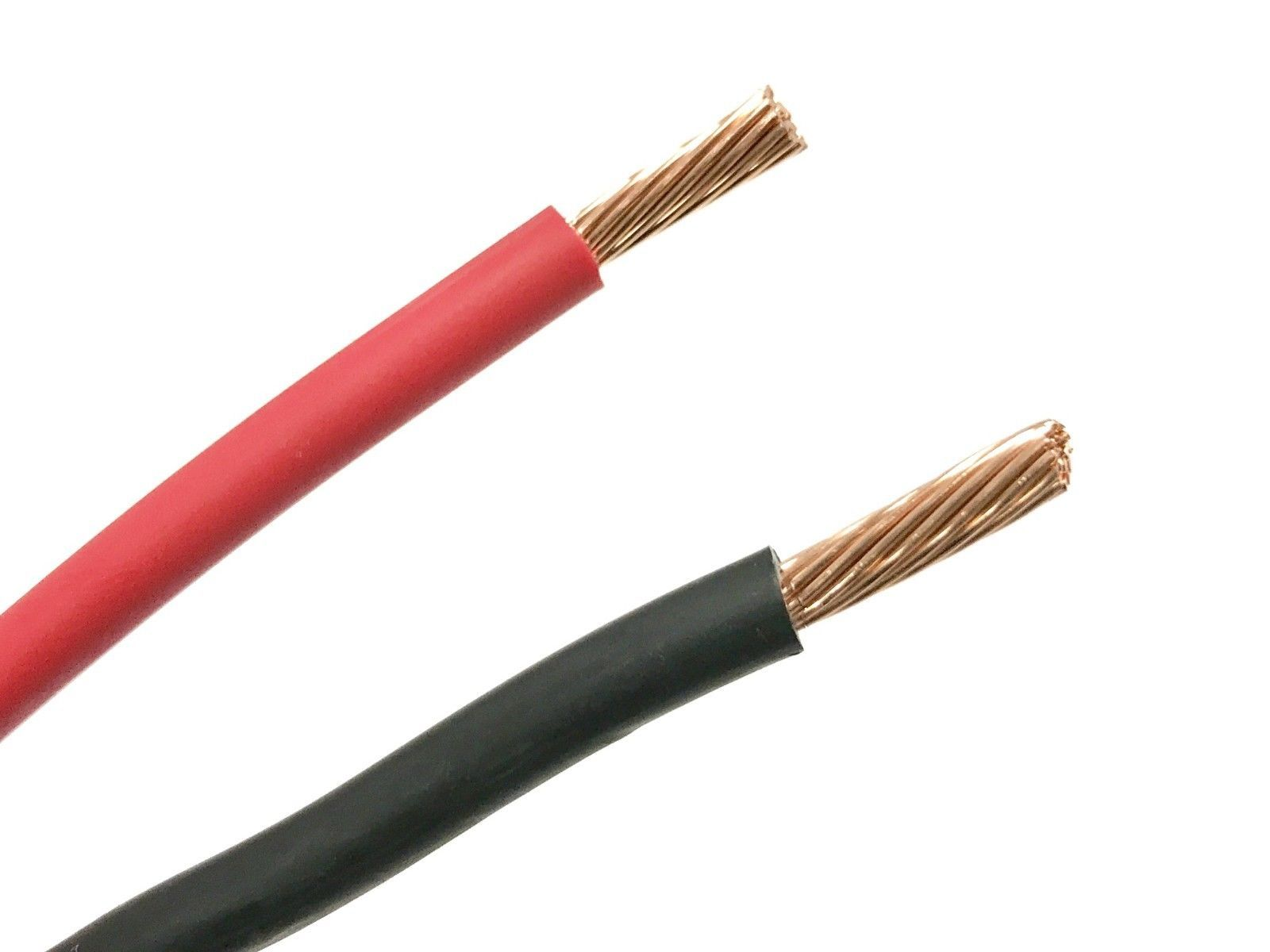Power and Speaker Wire: Black And Red 8 Gauge Gxl Automotive High ...