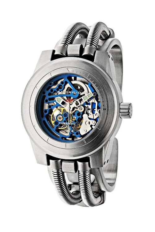 Android Men s AD520BBU Hydraumatic G7 Skeleton Automatic Blue Watch.  Automatic movement. 9d1cfeeb05