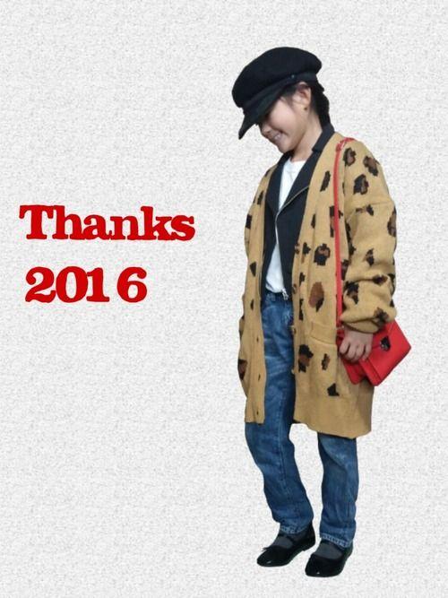 見ていただきありがとうございます!! 2016年最後のコーデ 今年もいろんな方々と絡めて いいね、s