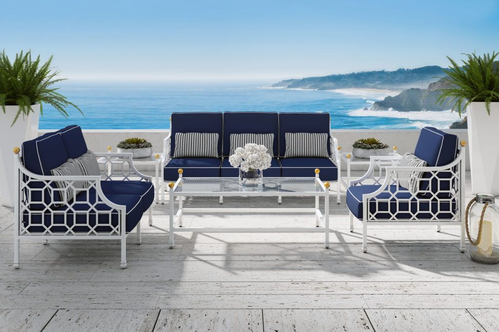 My Life In Blue White Outdoor Furniture Outdoor Outdoor