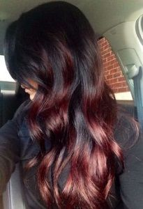 20 Burgundy Hair Colors and Styles   HairStyleHub - Part 9