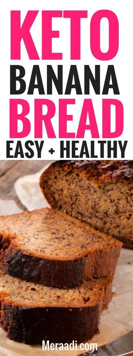 Keto Banana Bread Easy Tasty Low Carb Recipe Meraadi Keto