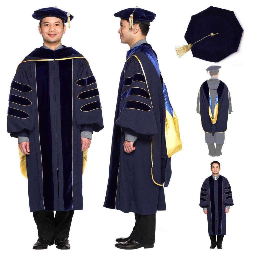 Doctoral Regalia for all Univerity of California Ph.D. students ...
