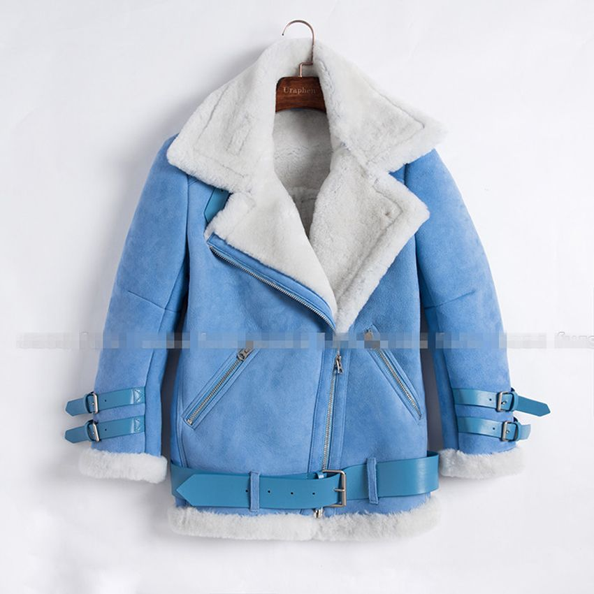 Find More Fur & Faux Fur Information about New Blue Color Real ...