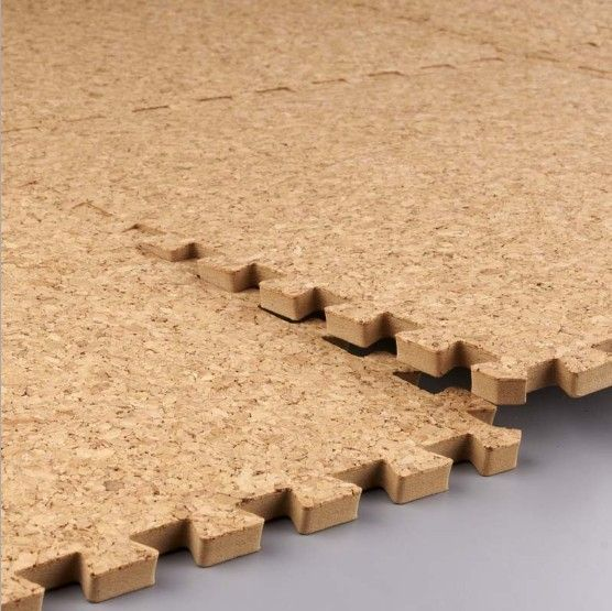 Free Shipping Fashion Cork Floor Mats