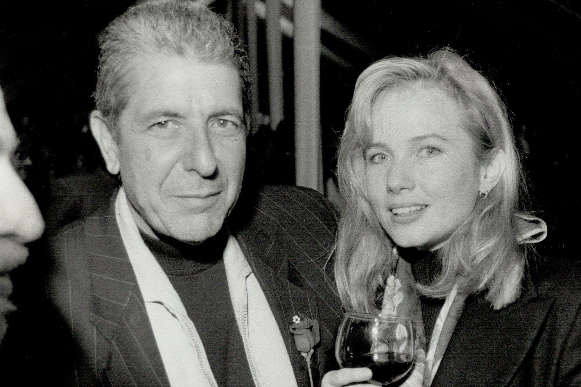 c970334bee426 Rebecca de Mornay Remembers Ex-Fiancé Leonard Cohen   There Was No ...