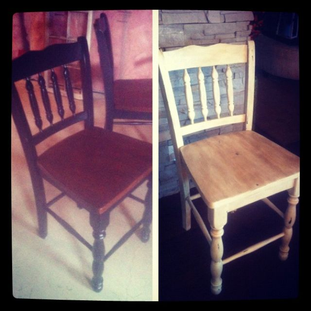 Annie Sloan old white with distressing and dark wax :)