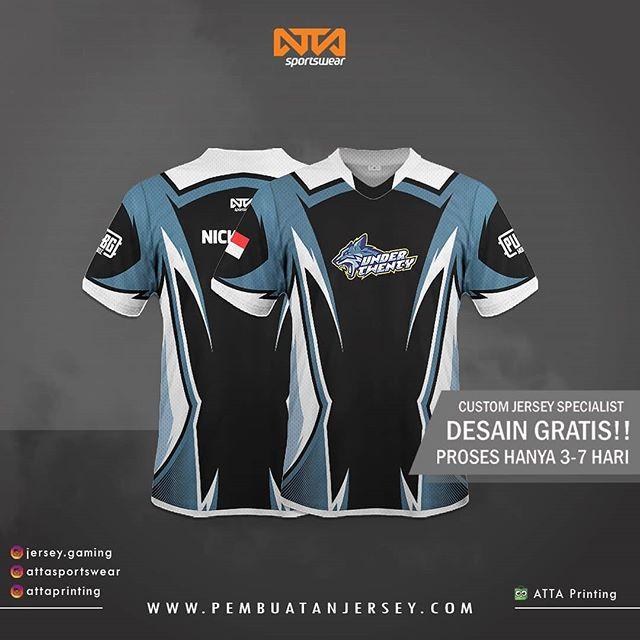 Download Bikin Baju Team Esport Jersey Gaming Foto Dan Video Instagram Sport T Shirt Shirt Template Black Shirt