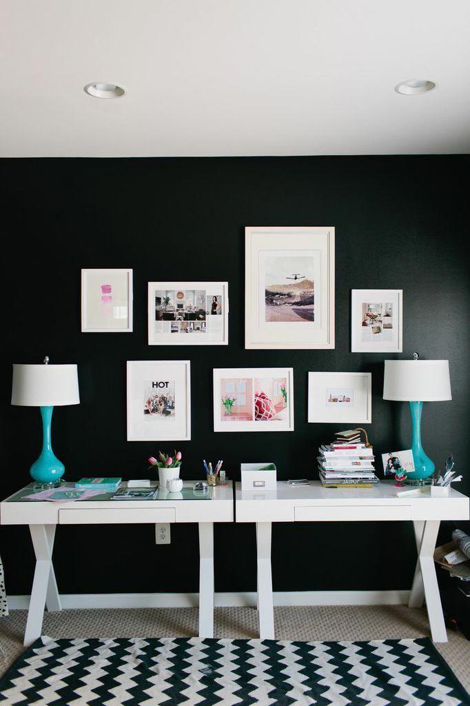 Interior designer jennifer wagner schmidt theeverygirl career home office living design interiordesigncareer also rh pinterest