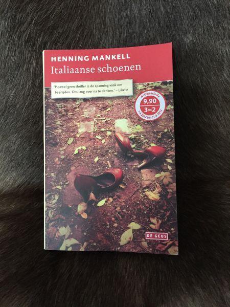 Blog Zweden: Italiaanse schoenen Henning Mankell