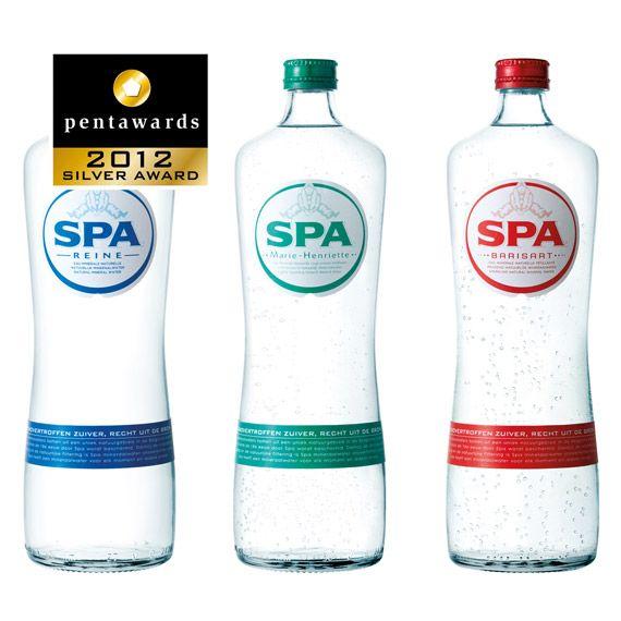 Silver Pentaward 2012 Beverages Water Brand Spa