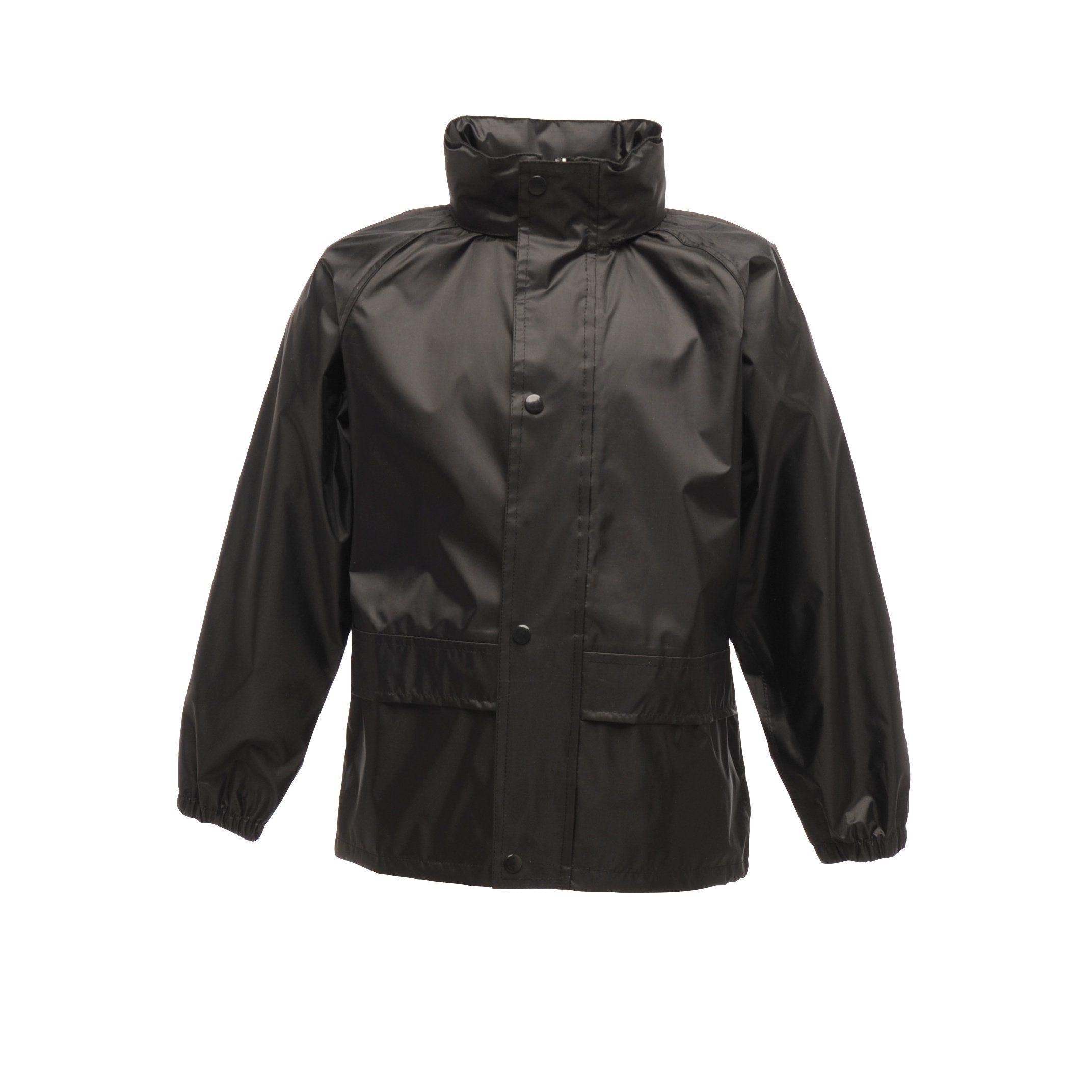 Mountain Warehouse Kids Rain Suit Waterproof Taped Seams /& Elasticated Cuffs