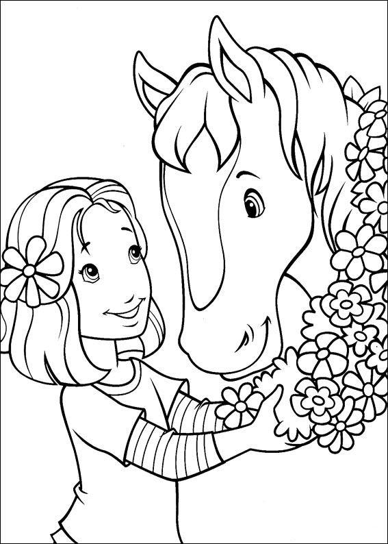 Holly Hobbie Tegninger til Farvelægning. Printbare