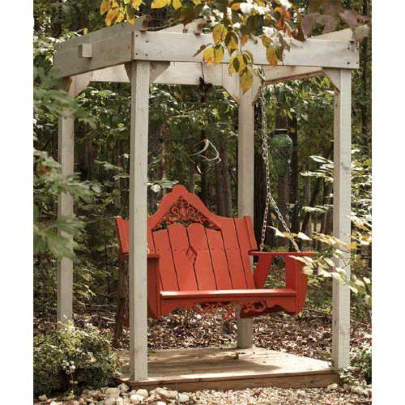 Uwharrie Chair Veranda Swing UC-V052- $924-would be a nice DIY