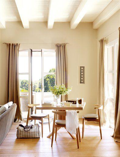 Rústica Por Fuera Y Urbana Por Dentro · Elmueble · Casas Interesting 2014 Dining Room Colors Design Ideas