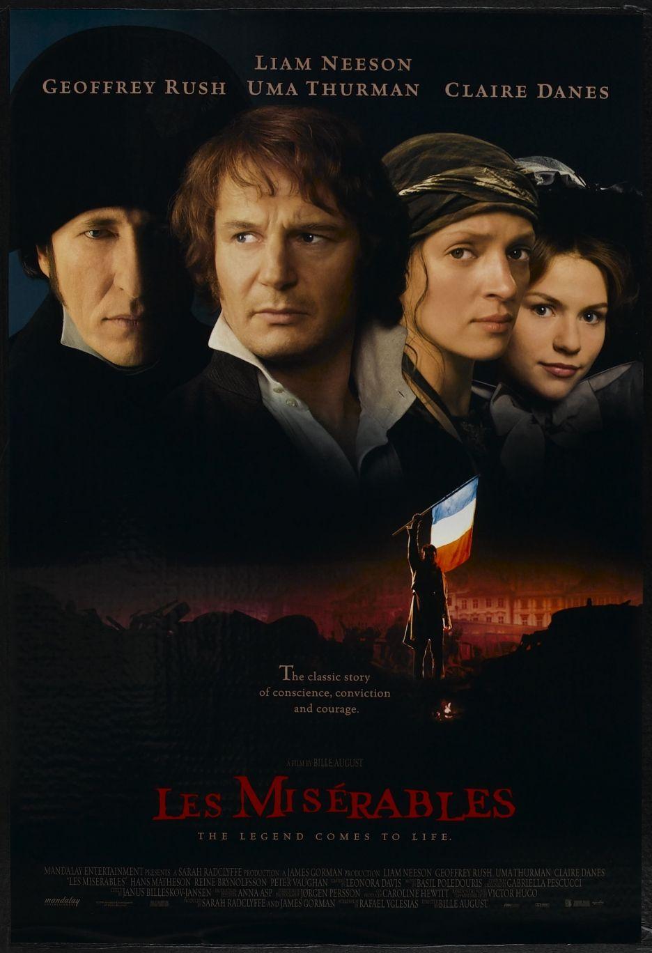 Les Miserables 1998 Os Miseraveis Filme Filmes Assistir