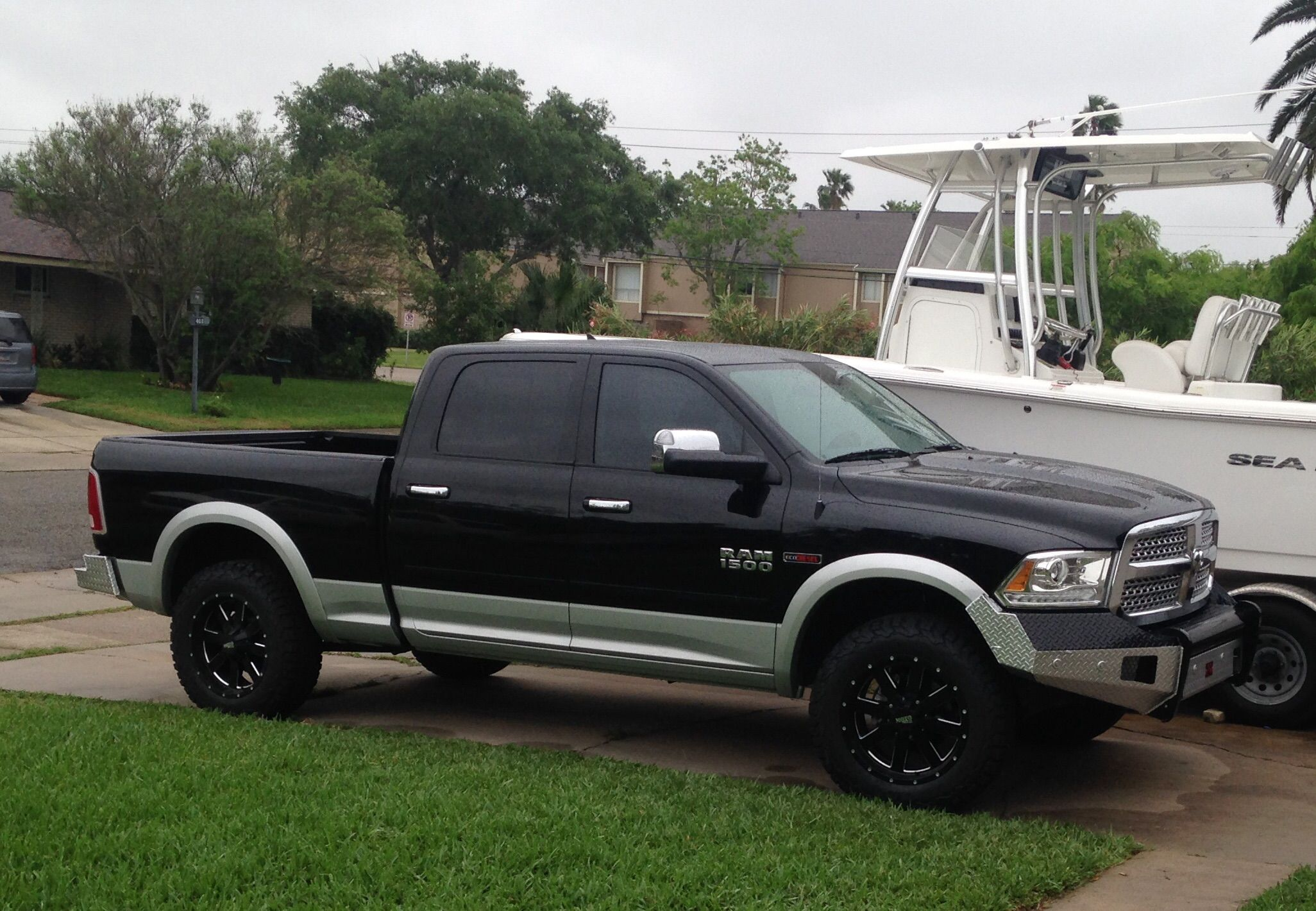 2015 Ram Ecodiesel Towing Review The Hull Truth Boating